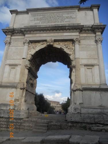 Arch of Titus.