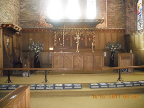 View of the altar, Christ Church Cathedral.