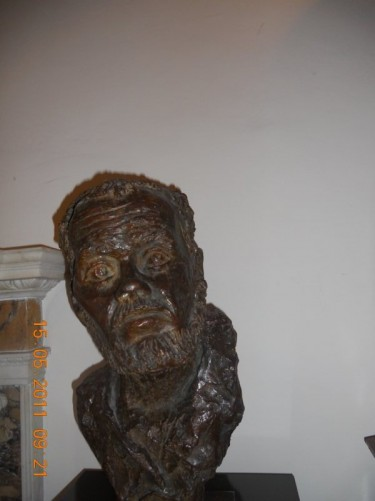 Another bust. Dublin Writers Museum.