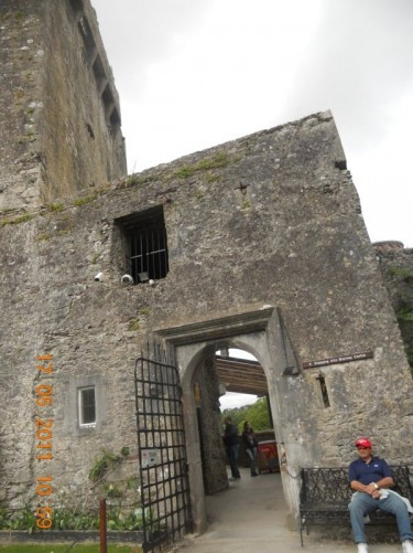 Entrance into the main part of Blarney Castle.