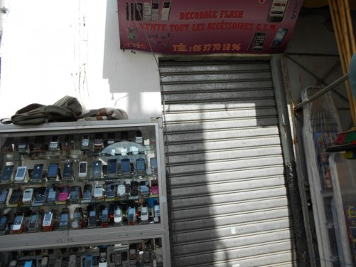 A mobile phone shop. Medina.