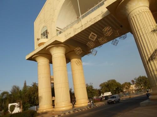 July 22 Arch in Banjul.