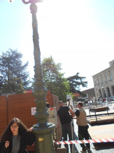 Tatiana, Piazza Bra.