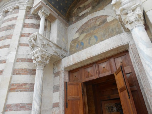 Doorway to Verona Cathedral.