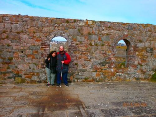 Again Tony and Tatiana on the ramparts.