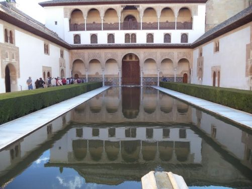 Another view of the Patio de los Arrayanes.