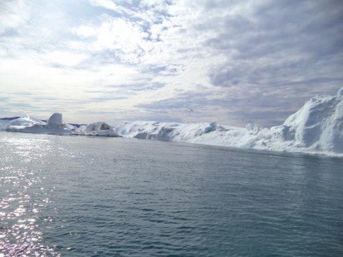More icebergs.