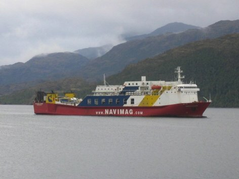 View of the NAVIMAG ship