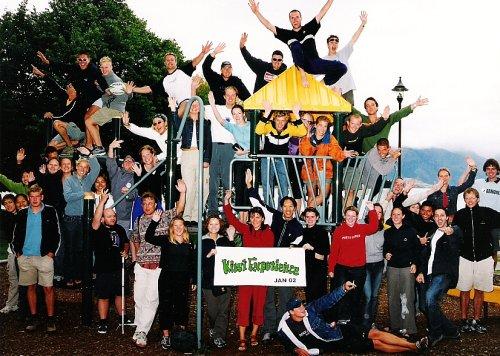 Kiwi Experience bus photo