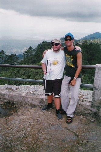 Humberto and Tony in the mountains near Santiago de Cuba
