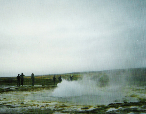Geyser on the Golden Circle Tour