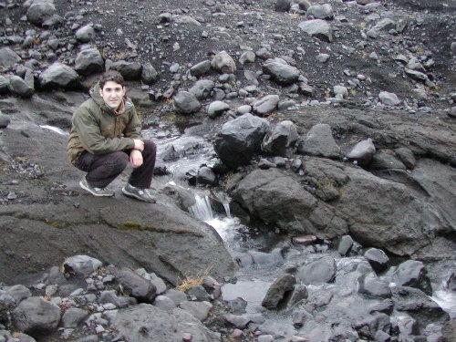 Ryan at Myrdalsjokull peak