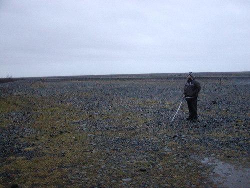 Tony in Skaftafell national park