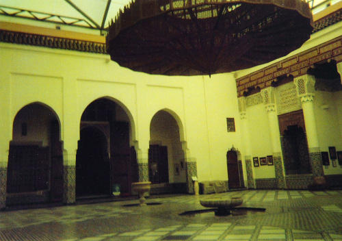 Courtyard of the Museum of Marrakesh