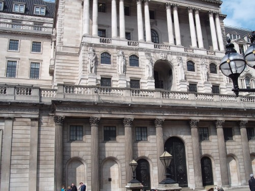 Bank of England, Threadneedle Street, London 18th April 2009