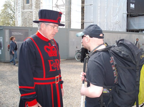 Beefeater, The Tower of London 19th April 2009