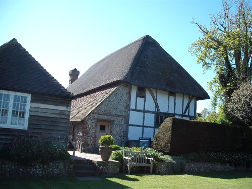 Clergy House and grounds, Alfriston, East Sussex, April 2009