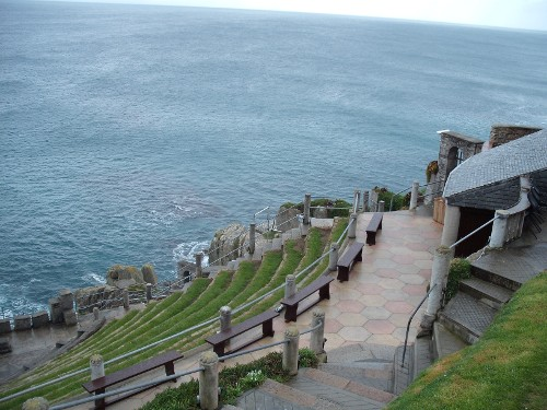 Minack Theatre, Cornwall, 28th March 2009