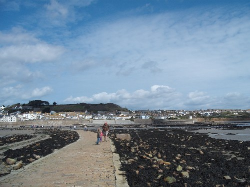 Causeway to St. Michael's Mount, Cornwall