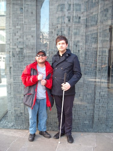 Tony and friend in London