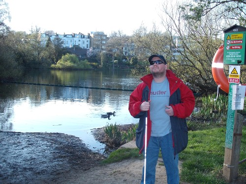Tony at Hampstead Heath, London
