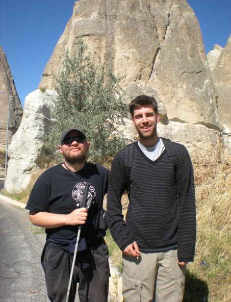 Tony and Mathieu, Cappadocia