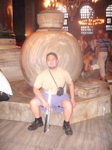 2nd marble urn at Hagia Sophia
