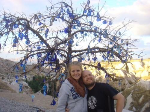 Ciara and Tony, Cappadocia