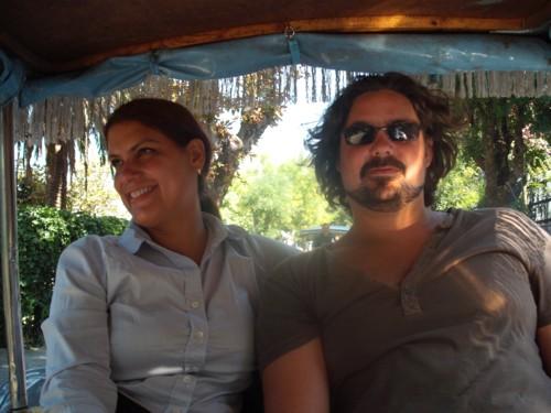 Aaron and Sandra, Princess Island, Istanbul