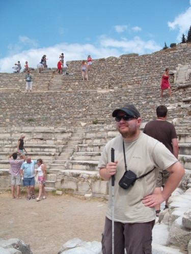 Amphitheatre inside Ephesus