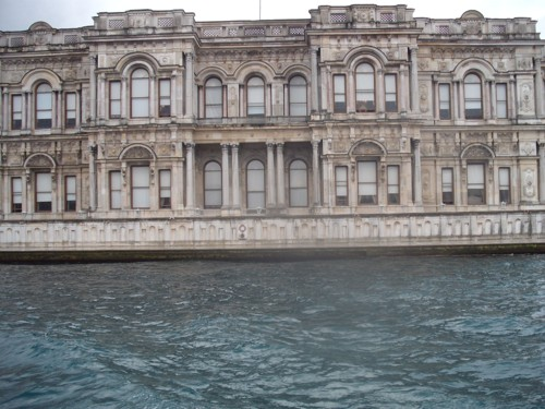 Beylerbeyi Palace on the Anatolian side of Istanbul