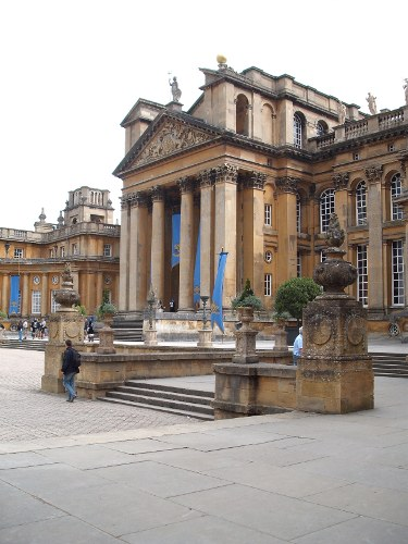 Blenheim Palace, 1 May
