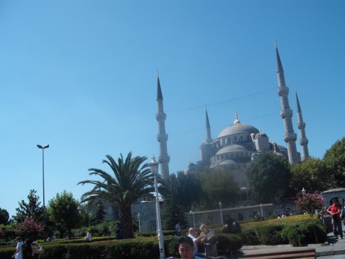 Blue Mosque, Istanbul 2nd Sept 2009
