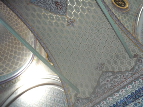 Ceiling inside Topkapi Palace, Istanbul