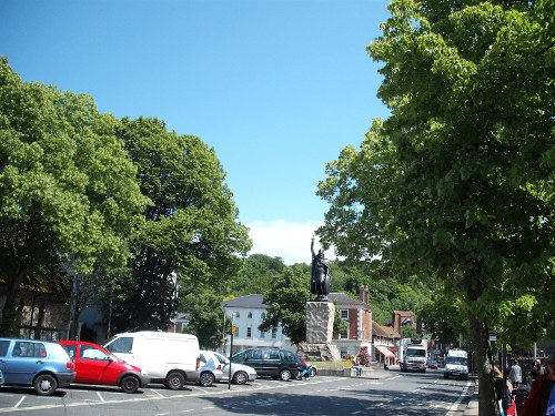 King Alfred statue, Winchester