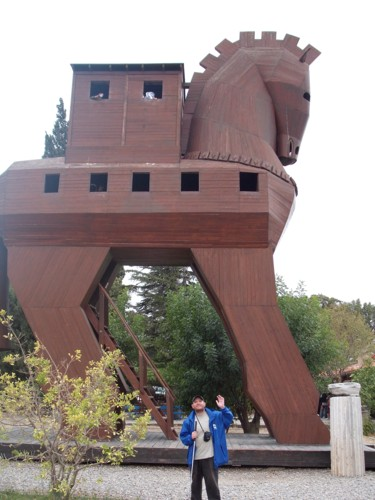 The Wooden Horse of Troy, Turkey