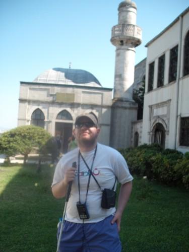Tony at Topkapi Palace, Istanbul