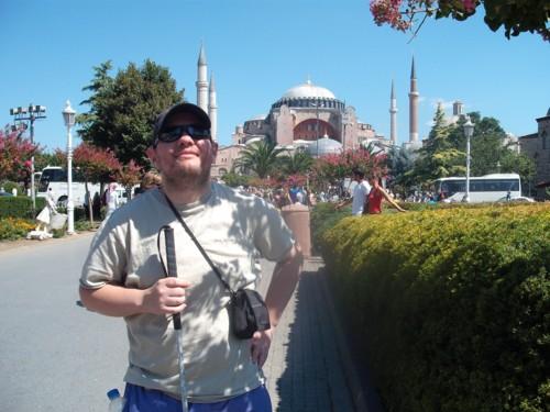 Tony in Istanbul
