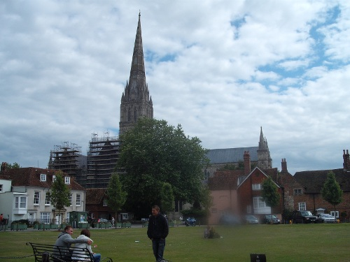 View of Salisbury Cathedral