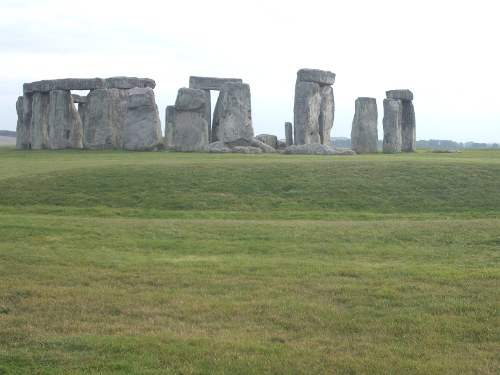 View of Stonehenge, Wiltshire, 18th October