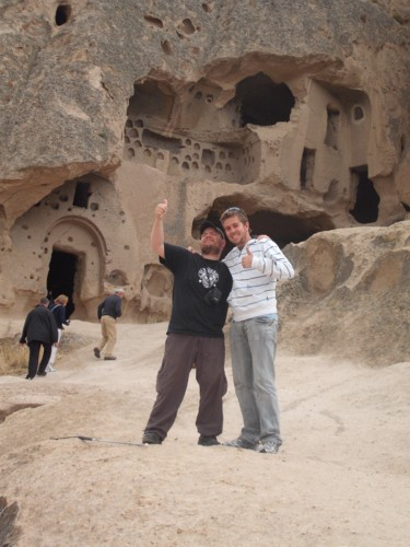 Tony and Chris, Cappadocia, 23rd September 2009