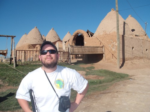 Tony at Harran, Sanliurfa