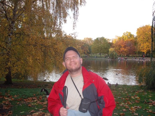 Tony in St James's Park, London