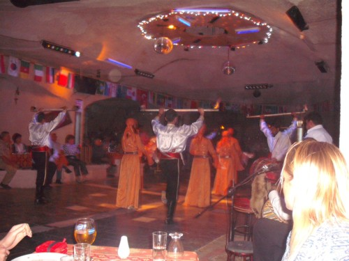 Turkish night, Cappadocia, 24th September 2009