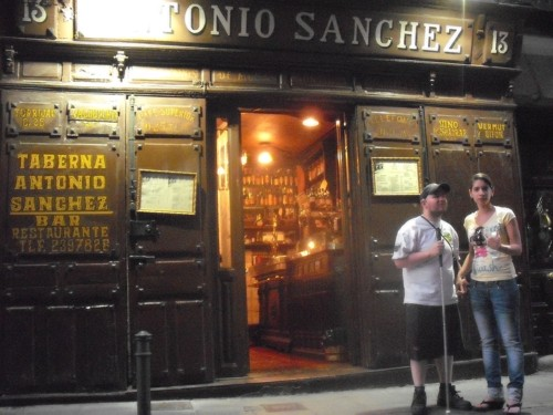 Tony and Glensey, Madrid