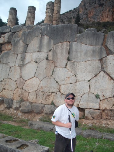 Ruins at Delphi, 7th November 2009.