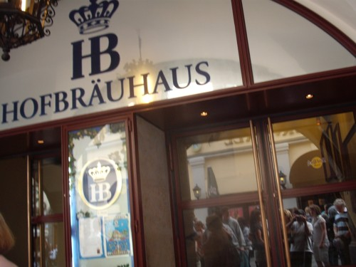 Hofbräuhaus, Munich, Germany, 31st July 2009