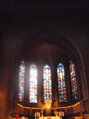 Inside Notre Dam Cathedral