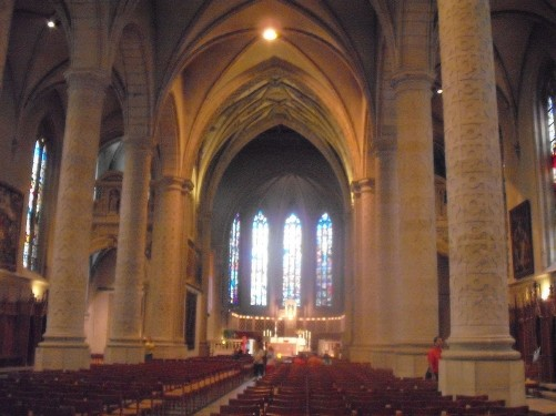 Notre Dam Cathedral, Luxembourg
