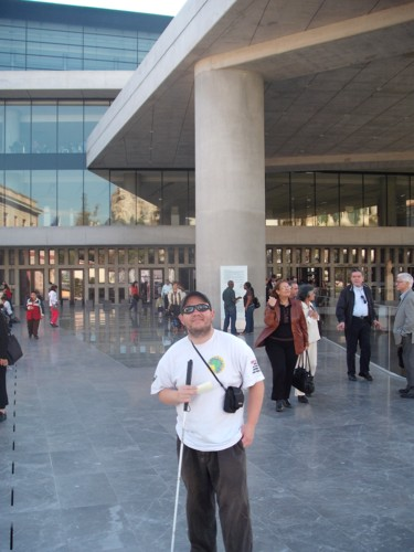 The new Acropolis Museum, Athens, Greece, 6th November 2009.